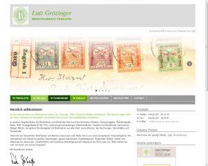 Briefmarken Grözinger